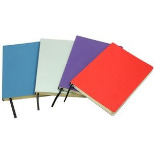 High quality notebook with elestic string with PU cover and PVC sleeve